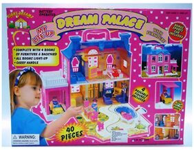 Dream Palace Doll House 40 Pieces Set