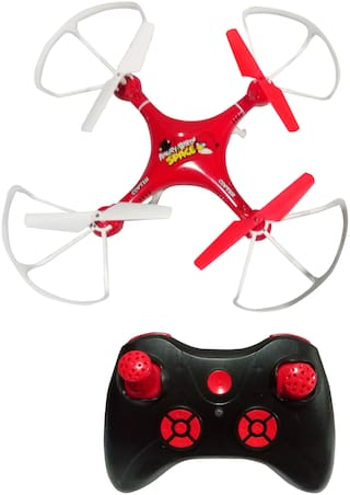 Drone Quadcopter Headless Mode One Key Return Features 6 Axis Stabilization System Gyro 4 Channel, Style, 2.4ghz (Angry Birds)