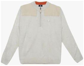 Duke Stardust Beige 100% Acrylic Sweater