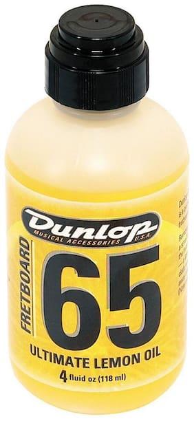 Dunlop Fretboard 65 Ultimate Lemon Oil Guitar Bass Fretboard Conditioner 4 oz.