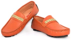 D'zigners Red Boys Casual shoes
