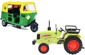 E-Chariot 2 Combo CNG Auto Rickshaw - Farm Tractor (Colour May Vary as per Availability)