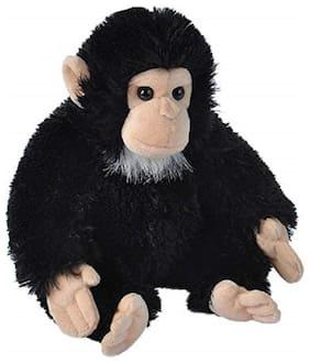 E-Chariot Soft Toys Mini Chimpanzee Stuffed Animal Cuddlekins by Wild Republic (10834 )