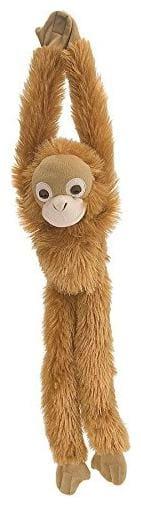 E-Chariot Soft Toy Hanging Monkey Stuffed Animal Cuddlekins by Wild Republic (Orangutan) -15254