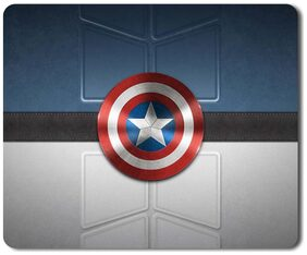 Eagletail India Captain America Mouse Pad