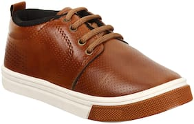 Earton Brown Boys Casual shoes