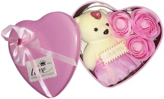 EASTERN CLUB Pink Teddy Bear - 15 cm