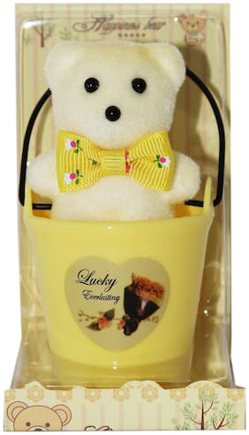 Zymour Yellow Teddy Bear - 10 cm