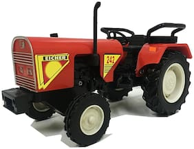 ECHR Tractor Miniature Automobile toy (Pull Back Action) Contents may vary from illustrations.