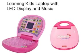 Educational Learning Kids Laptop With LED Display & Music WWR - 21