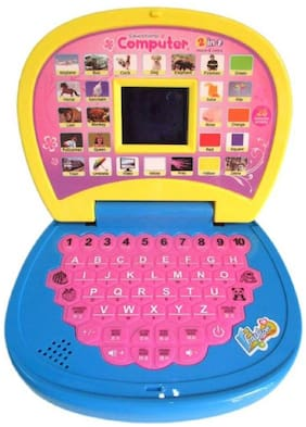 Educational Learning Kids Laptop With LED Display & Music WWR - 25
