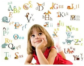 Educational Stickers For Kiddi PVC Vinyl Large Wall Sticker