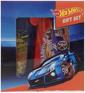 Edutoys Onlykidz Hot Wheels Gift Set with Lunch Box and Sipper Bottle by Only Kidz