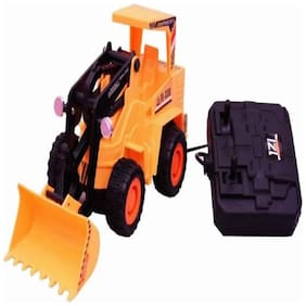 Inrange Kids new Kids Full Functional Remote Control Rechargeable Construction JCB Truck