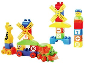 Inrange Learning Blocks For Kids With Cartoon Figures Bag Packing;Best Gift Toy