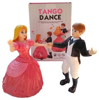eedgedtore Dancing Princess Doll Tango Dance With Light And Music For Kids / Children (Multicolor)