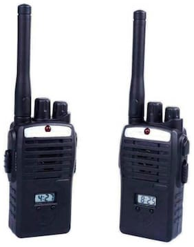 eEdgestore 2 pcs Wireless Portable Inter Phone Walkie Talkie with LCD Display