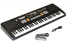eEdgestore 61 keys Bigfun Electronic Piano Keyboard with LED Display & Microphone