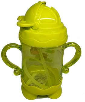 eEdgestore  Kids Sipper Cum Water Bottle with Handle for kids assorted