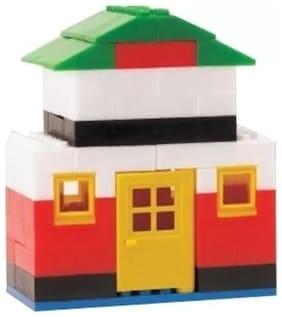 eEdgestore Little builder Fun Villa Little Builder Block Set  (Multicolor)