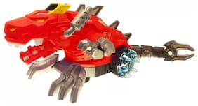 eEdgestore Mechanical Spray Dragon toy for kids (Red)  (Multicolor)