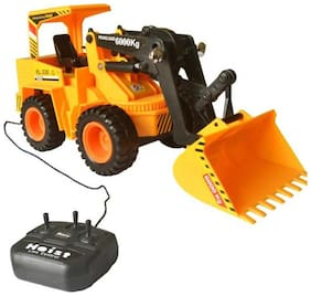 eEdgestore Perfect Wired Remote Control Battery Operated JCB Crane Truck Toy