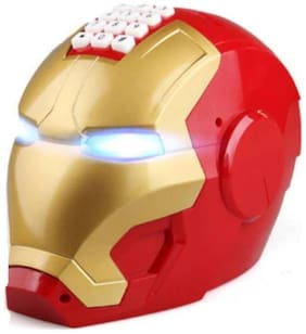 eEdgestore Prince Toys Electronic Iron Man Password Piggy Bank Cash Coin Can Auto Scroll Paper Money Saving Box Coin Bank Assorted Coin Bank