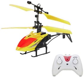 eEdgestore super fly exceed helicopter with remote control and hand induction for kids Assorted.