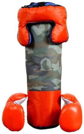eEdgestore Sports child boxing kit Banana Bag (heavy, 44 kg) Boxing Kit Boxing Kit