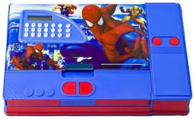 eEdgestore Spider Man Spider Man Art Plastic Pencil Box  (Set of 1, Multicolor)