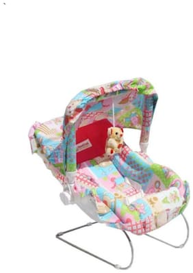 Ehomekart 10 in 1 Carry Cot Pink