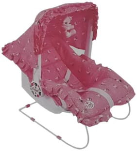 Ehomekart 9 in 1 Carry Cot Pink