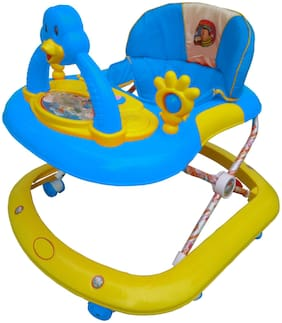 Ehomekart Blue Cherry Walker With Breaking Feature For Kids 1,700