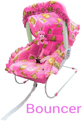 Ehomekart Pink Carry Cot 9-in-1 For Kids