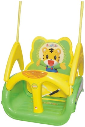 Ehomekart WAVE PLAIN Adjustable 3-in-1 Swing for Kids- Green