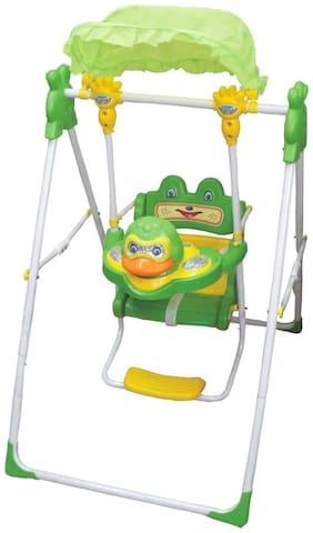 Ehomekart Wave Adjustable 3 in 1 Swing for Kids- Green