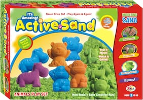 Ekta Active Sand Animal Play Set