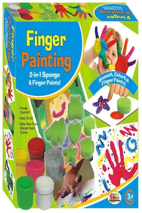 Ekta Finger Painting Fun Kit