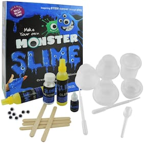 Ekta Monster Slime Lab | Non-Toxic | Toy for 8 Years | Slime Lab kit | Do-it-Yourself