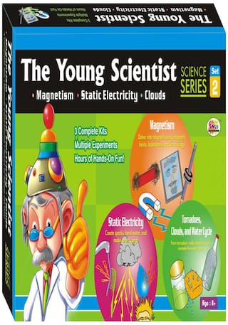 Buy ekta the young scientist 2 magnetism electricity clouds do it ekta the young scientist 2 magnetism electricity clouds do it yourself kit solutioingenieria Image collections