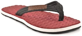 Electra Boys Maroon Color Thong Style Flip Flops(Size-5)