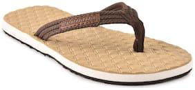 Electra Boys Khaki Green Thong Style Flip Flops(Size-4)