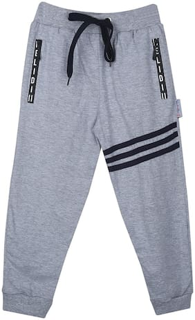 ELIDI Boy Cotton Track pants - Grey