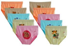ELK Girl Panty & Bloomer - Brown