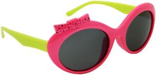 ELS Kids UV Protection Sunglass-KIDS-K06-GRNPNK-BL-S