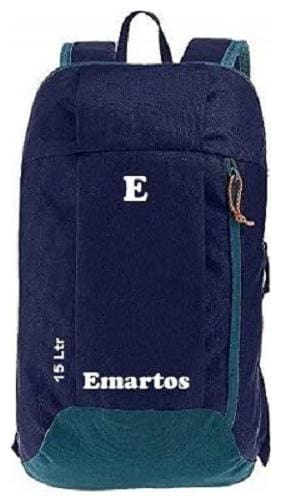 "Emartos ""Kids Series"" 15 Ltr Navy Blue Casual Backpack I Bagpack"
