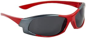 Emartos Kidz Wrap Around Sunglasses Red