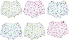 EPOXY Panty & bloomer for Girls - White , Set of 6