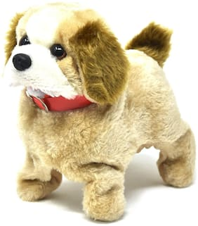 Eris Inc Fantastic Battery Operated Cute Jumping Walking Puppy Toy