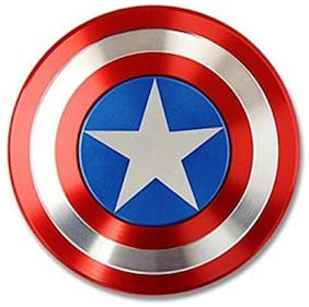 Excite Shoppers Captain America Metal High-Speed Fidget Spinner